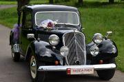 Pojazdy Retro - Zabytkiem do ślubu