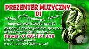 prezenter muzyczny dj Paweł