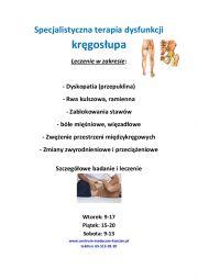 Rehabilitacja, Fizjoterapia, Terapia Manualna, Chiropraktyka