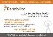 REHABILITO Marcin Paul - Profesjonalna rehabilitacja i masaż