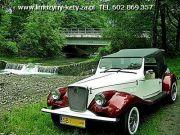 Replika Retro z lat 30-tych - Lincoln  - Jaguar - Zabytkowe