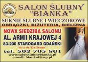 SALON SLUBNY BIANKA