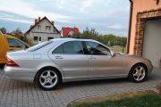 samochod auto do ślubu Mercedes S, E