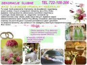 Satine - dekoraje ślubne