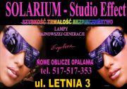 """SOLARIUM """"Studio Effect"""" ul. Letnia 3"""