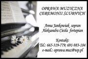Śpiewaczka - Oprawa muzyczna ceremonii ślubnych