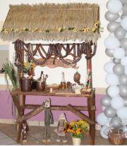 Stół wiejski. Ślub, wesele, imprezy okolicznościowe