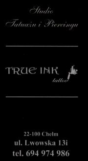 "Studio tatuażu i piercingu ""True Ink Tattoo"""