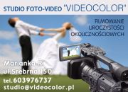 Studio VIDEOCOLOR - Wideofilmowanie uroczystości ślubnych