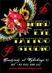 Tattoo 3rd Eye Baza Firm Studio Tatuażu Piercing Grudziądz