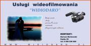 """Usługi wideofilmowania """"Widiodaro"""""""