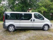 Wynajem Bus Opel Vivaro Long 9 osobowy