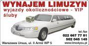 Wynajem limuzyn Lincoln 9m - Warszawa