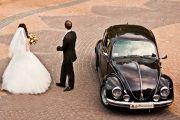 Wynajem Samochodu do ślubu VW Garbus - Fotografia ślubna