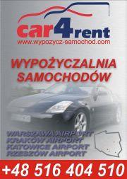 Wypożyczalnia samochodów, wynajem aut, przewóz osób