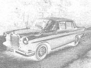 Zabytkowy Mercedes-Benz