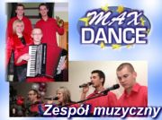 Zespół muzyczny Max Dance na wesele i nie tylko