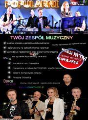 Zespół muzyczny POPULARNI.COM.Pl