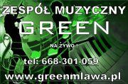 zespół weselny green działdowo żuromin ciechanów