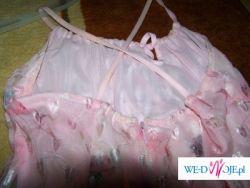 2 sukienki 36-38 rózowe słodkie, letnia i wizytowa.