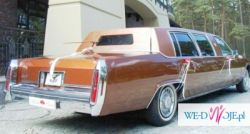 2011.06.04 oddam termin. Auto Ślubne. Zabytkowa Limuzyna Cadillac Fleetwood