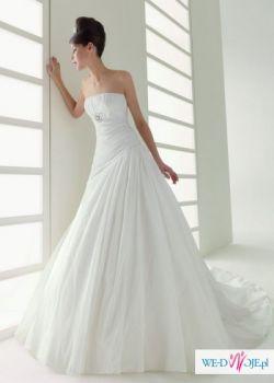 24 nowe suknie ślubne po likwidacji salonu