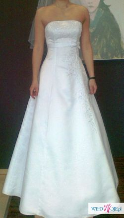 Aby pięknie wyglądać w ten dzień - suknia ślubna dla Ciebie
