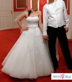 Angel Shirvan Piekna suknia ślubna