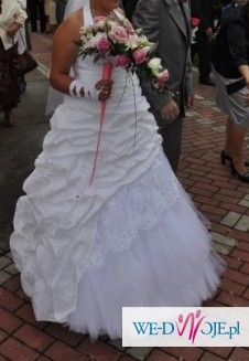 Anielska suknia ślubna