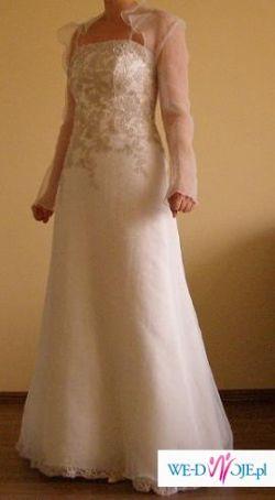 Atrakcyjna suknia ślubna!!!!