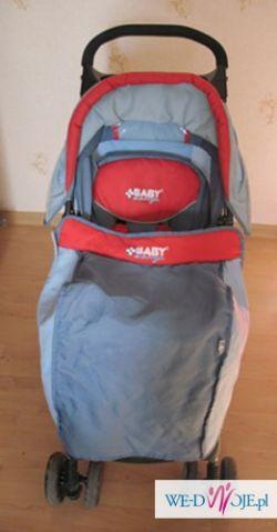 BABY DESIGN MINI POZNAŃ Lekka Spacerówka wózek