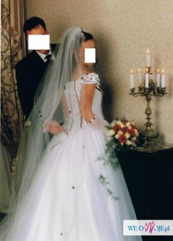 Bajeczna niepowtarzalna suknia księżniczki