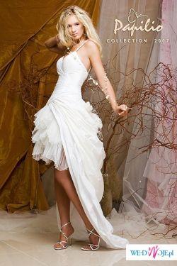 Bajeczna suknia PAPILIO 2007 dwa w jednym
