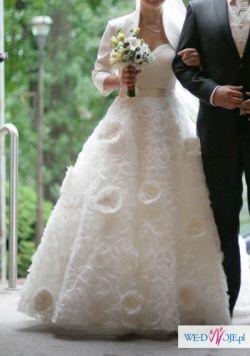 Bajeczna suknia princessa