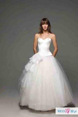 Bajeczna suknia ślubna!