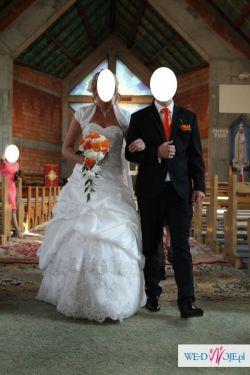 Bajeczna Suknia Ślubna 38-40-42 (GRATISY!!!)