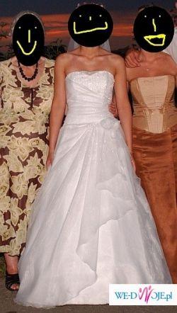 Bajeczna suknia ślubna. ;)