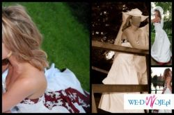 Bajeczna suknia ślubna dla princesski :)