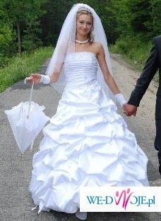 Bajeczna suknia ślubna Dreamon- Elizabeth +dodatki gratis