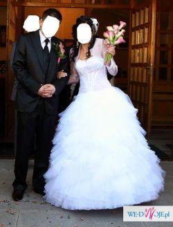 """Bajeczna suknia ślubna Emmi Mariage """"Kenzo"""" 2010r."""