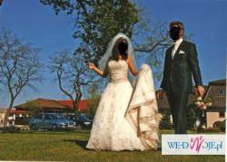 Bajeczna suknia ślubna + gratisy!!!
