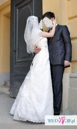 Bajeczna suknia ślubna Herm's Eliane