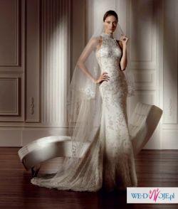 Bajeczna suknia ślubna z kolekcji PRONOVIAS - DANTE