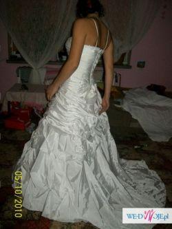 bajeczna suknia za małą kase
