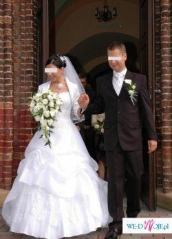 Bajecznie piękna suknia ślubna!!