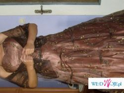 Bajkowa suknia balowa