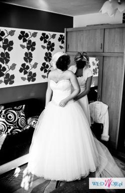 Bajkowa suknia ślubna