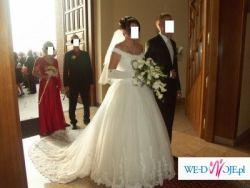 bajkowa suknia ślubna demetrios