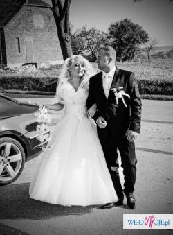 Bajkowa suknia ślubna dla Księżniczki
