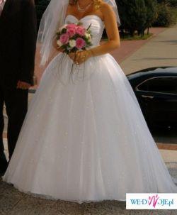 Bajkowa śuknia Ślubna Dla Księzniczki